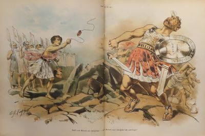 Image for Puck Magazine September 14, 1887 - September 5, 1888 German language edition.