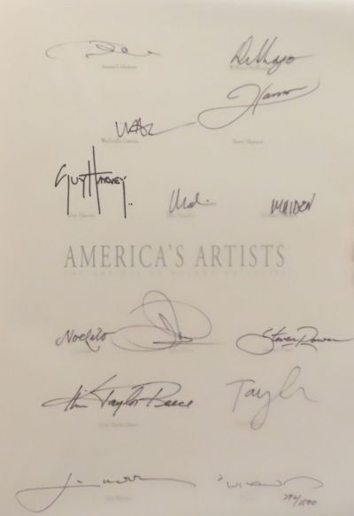 Image for America's Artists, The Artists of Wyland Galleries (SIGNED)