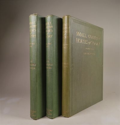 Image for Small Country Houses of To-Day (Today) - 3 Volumes, Complete