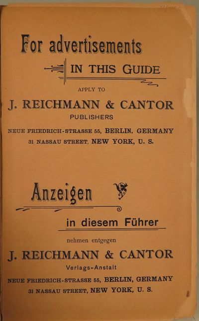 Image for Guide Through North [and Central] America. Souvenir of the North German Lloyd, Bremen.