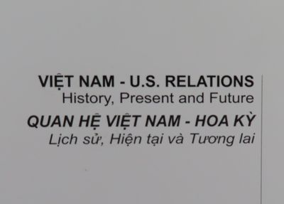 Image for Vietnam- U.S. Relations. History, Present and Future.