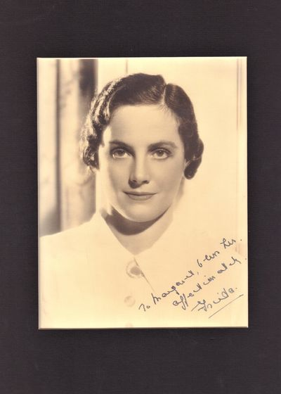 Image for Signed photo of Frieda Inescort