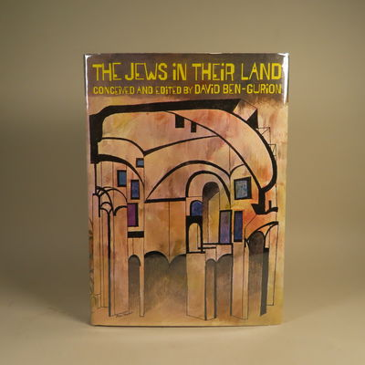 Image for The Jews in their Land Translated from the Hebrew by Mordechai Nurock, Misha Louvish