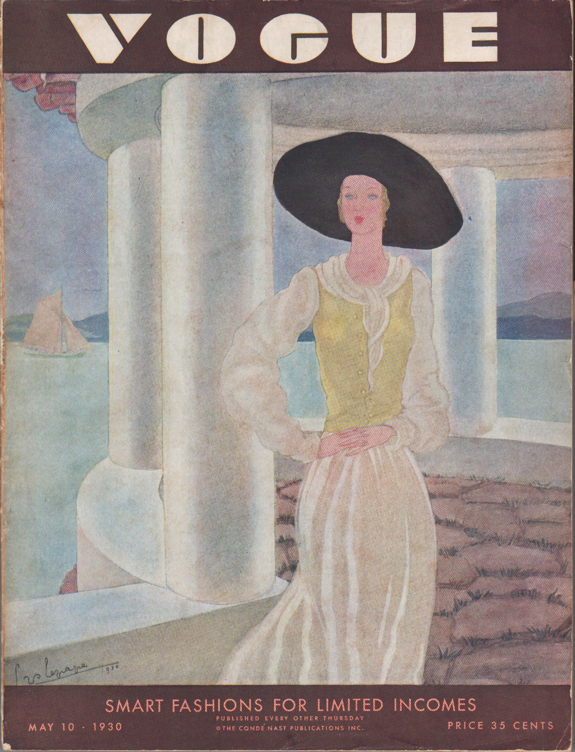 "Image for ""Vogue Magazine May 10, 1930"""