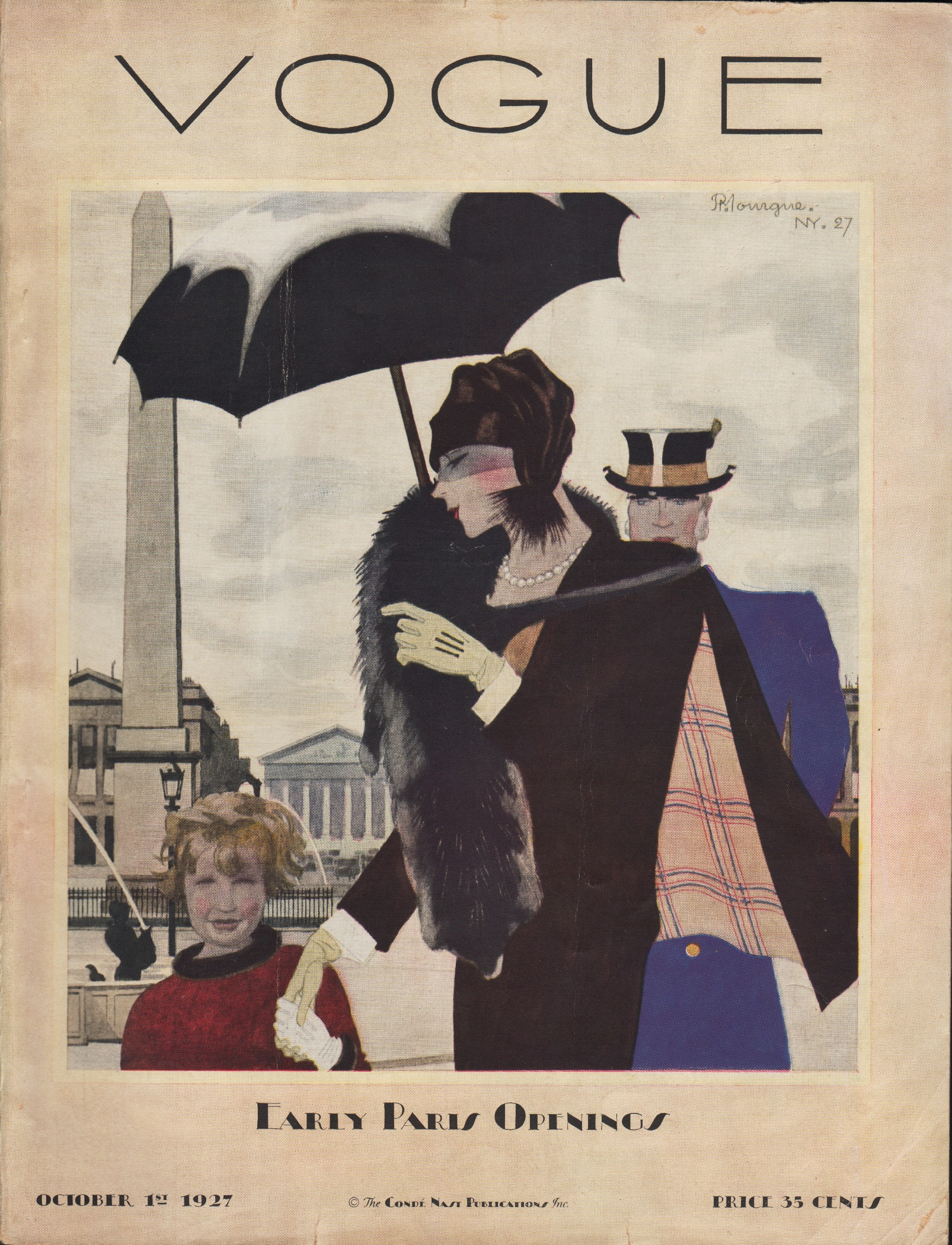 "Image for ""Vogue Magazine October 1, 1927"""