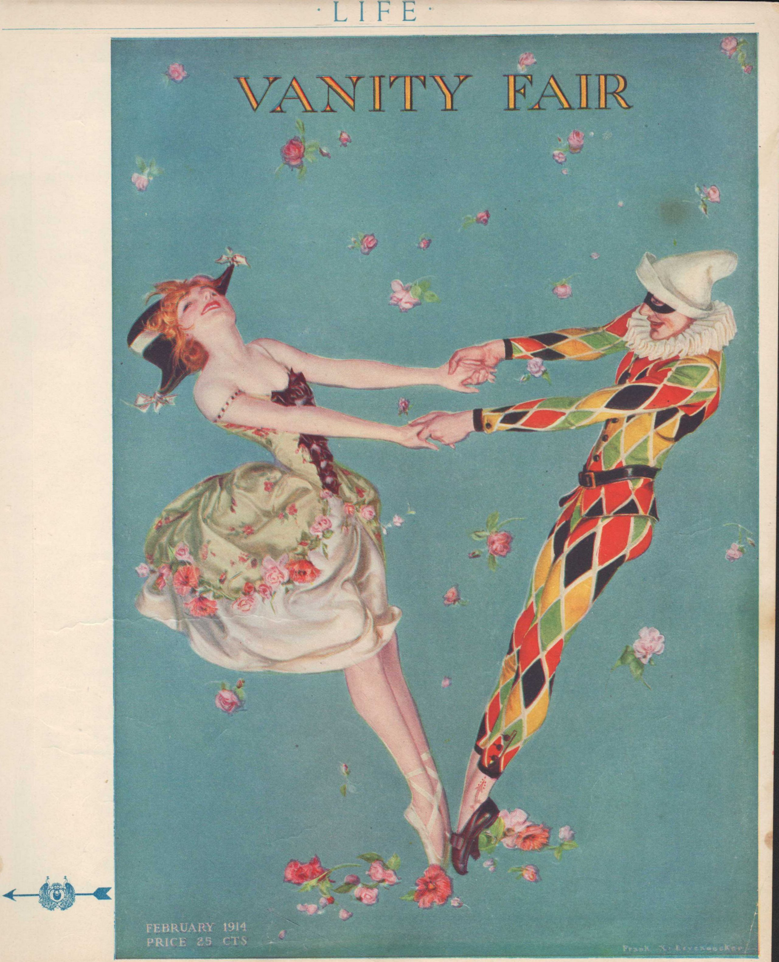 "Image for ""Life Magazine Advertisement for Vanity Fair, February 5, 1914"""