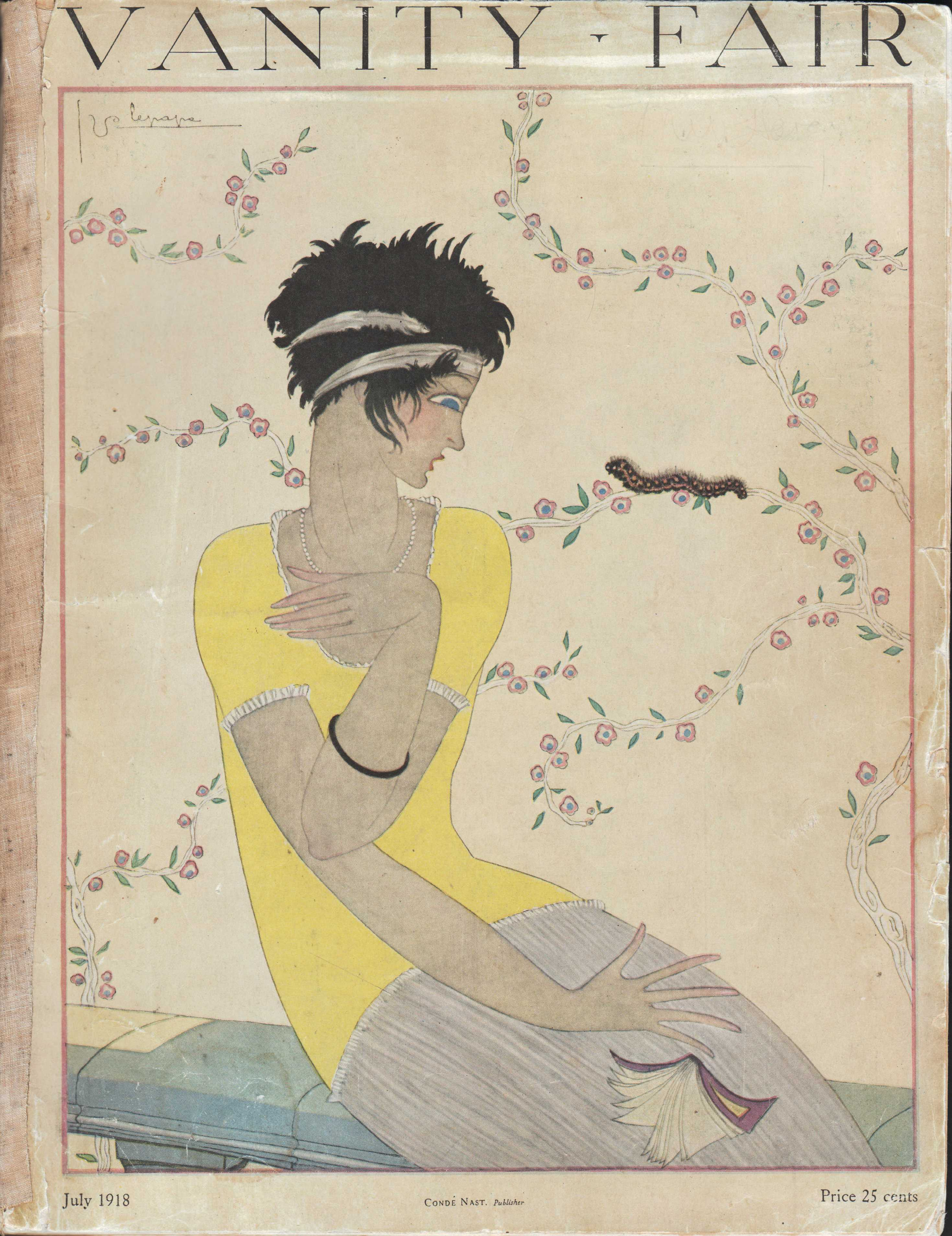 "Image for ""Vanity Fair Magazine, July, 1918"""