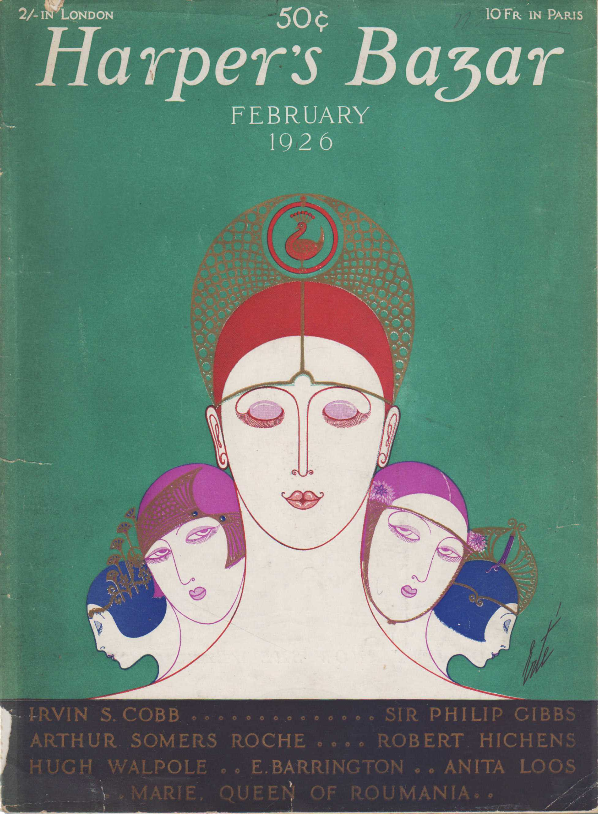 "Image for ""Harper's Bazaar, February, 1926"""