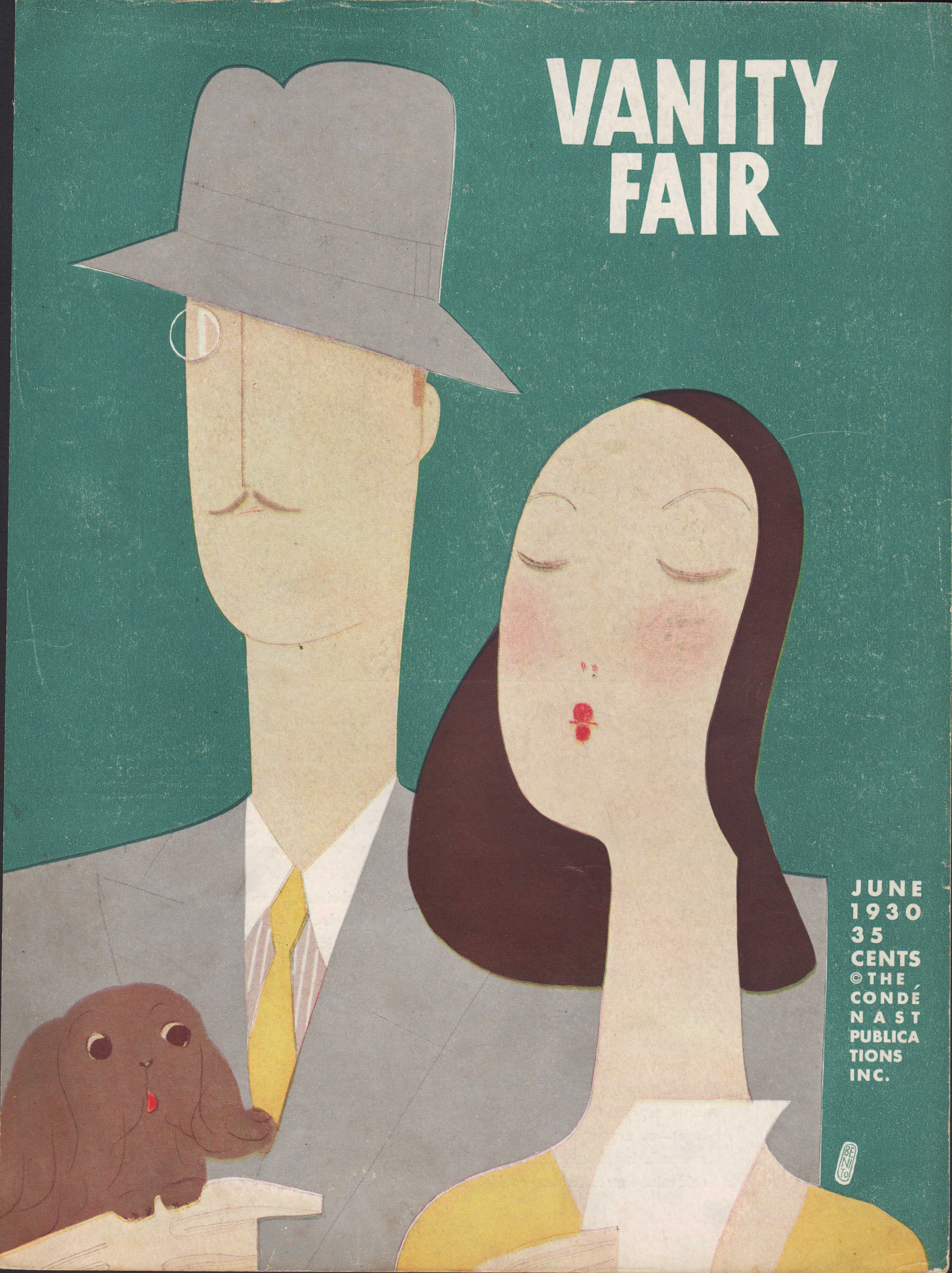 Image for Vanity Fair Magazine, June, 1930 - Cover Only