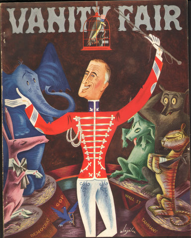 Image for Vanity Fair Magazine, April,1935