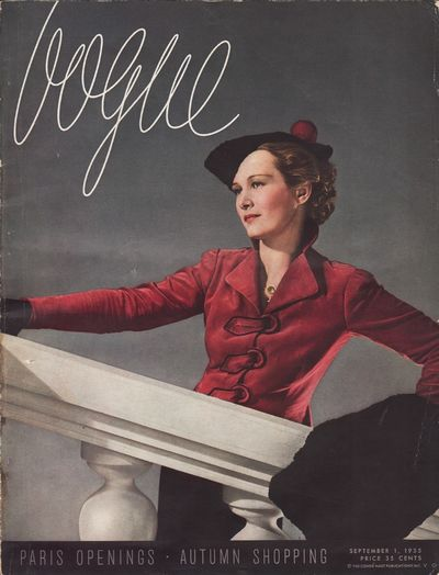 "Image for ""Vogue Magazine September 1, 1935"""