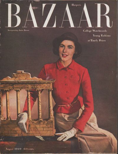 "Image for ""Harper's Bazaar, August, 1949"""