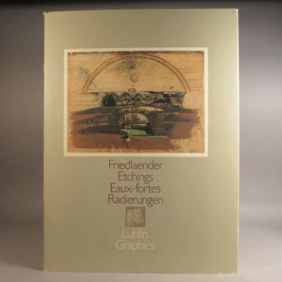 Image for Friedlaender Etchings - Eaux-Fortes Radierungen