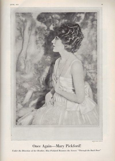 Image for Vanity Fair Magazine, June, 1921