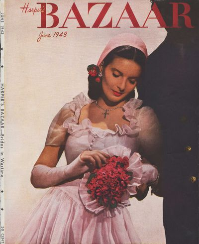 Image for Harper's Bazar (Harper's Bazaar) - June, 1943 - Cover Only