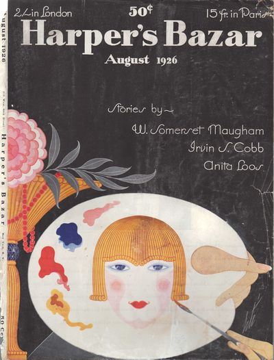 Image for Harper's Bazar (Harper's Bazaar) - August, 1926 - Cover Only
