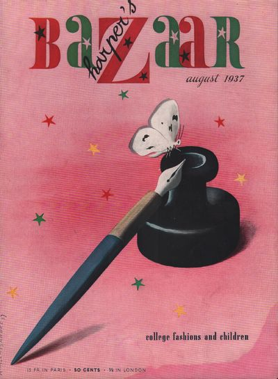 Image for Harper's Bazar (Harper's Bazaar) - August, 1937 - Cover Only