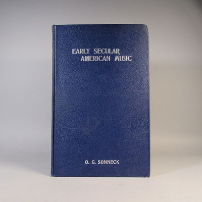 Image for Bibliography of Early Secular American Music