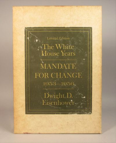 Image for The White House Years. Mandate for Change.  Signed, Limited Edition.