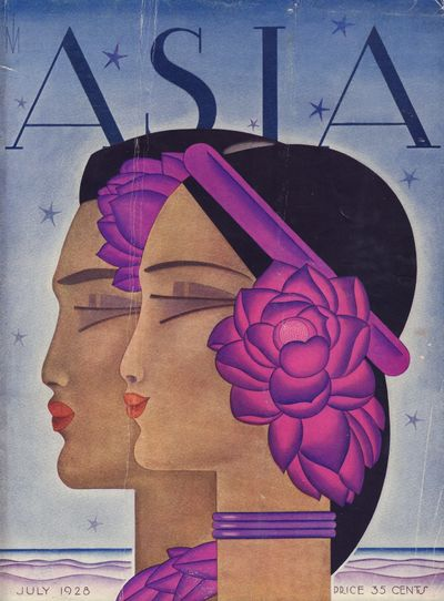 Image for Asia Magazine. July 1928 - Cover Only