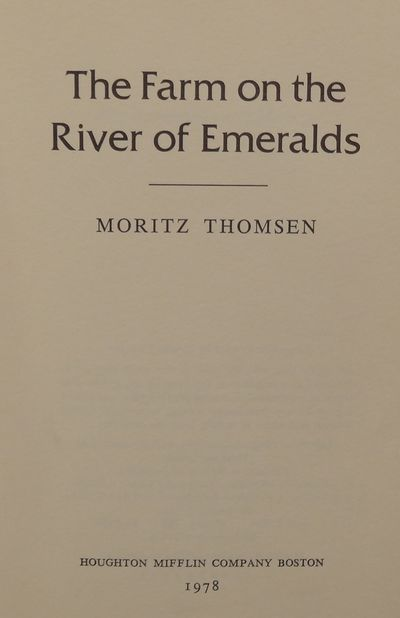 Image for The Farm on the River of Emeralds